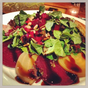 Highlight of Palm Springs was this A-mazing beet salad!