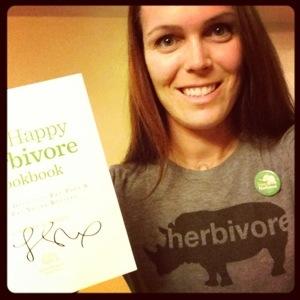 One Very Happy Herbivore!