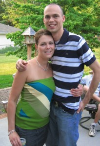 2008 photo with my brother. I was a size 12-13 here and weighed around 180.